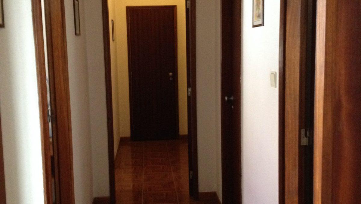 Corredor dos quartos e sala